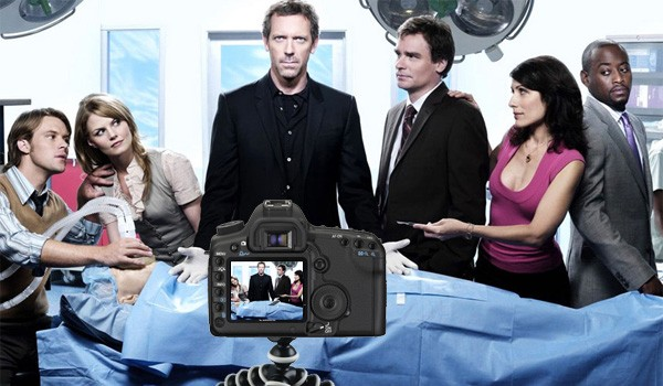 Canon 5D Mark II grava episódio de Dr House