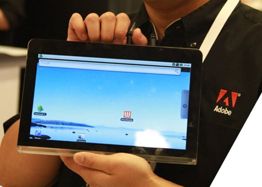 Tablet Adobe com Android