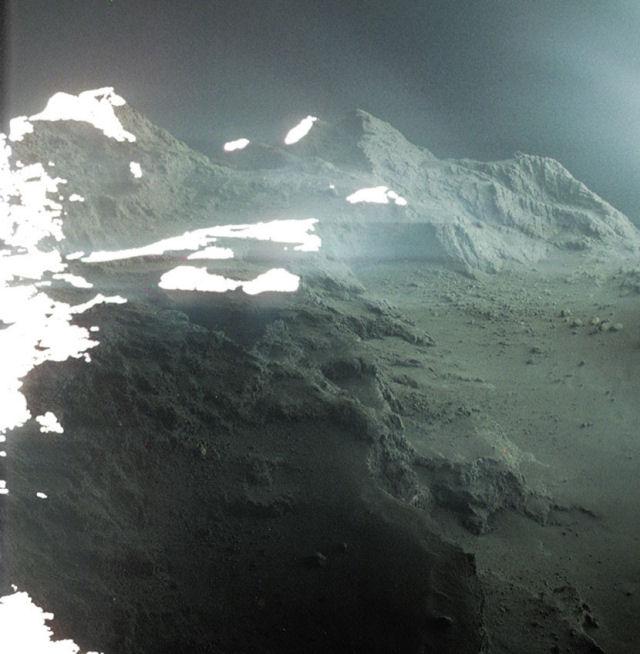 Rosetta registra o cometa 67P como nunca antes
