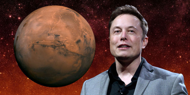 Quanto tempo antes de Elon Musk e a Space X começarem a colonizar Marte?