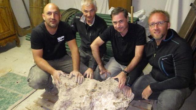 Acham o maior meteorito já caído na França