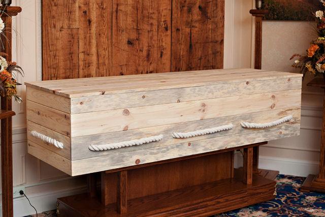Kit para construir seu próprio caixão