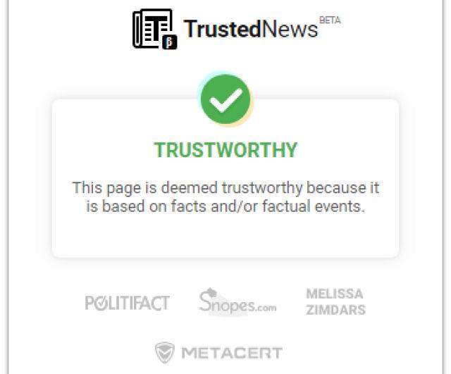 Esta extensão de Chrome avisa se a notícia que você está lendo é falsa (por enquanto só funciona em inglês)